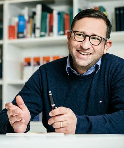 HR-Manager Tobias Voegele